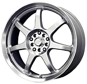 "MB Wheels Seven X Silver Machined Wheel (15x6.5""/4x108mm)"
