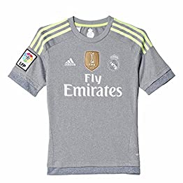 Adidas - AK2492 - Maillot Football Real Madrid Extérieur Gris Taille Enfant