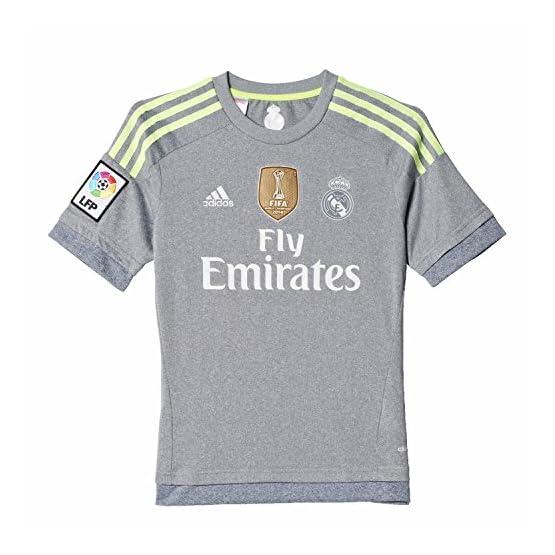 Adidas - AK2492 - Maillot Football Real Madrid Extérieur Gris Taille Enfant