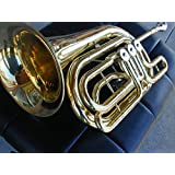 Fiscorns Bass C Flugelhorn Gold Brass