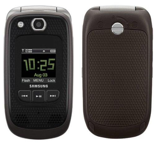 Verizon Samsung Convoy U660 No Contract Rugged PTT Cell Phone Grey Verizon (Flip Phones Samsung)