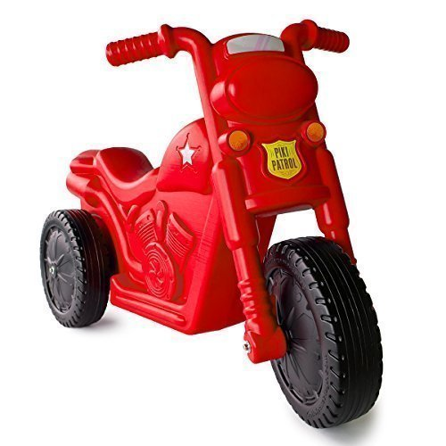 (The Piki Piki Bike | Durable & Easy To Ride Toddler Bike, Made In The USA (Red))