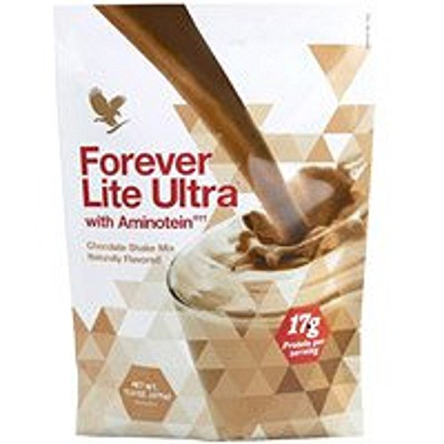 Forever Lite Ultra with Aminotein Nutrition Chocolate Shake 13 2 oz(17g of  Protein per Serving)