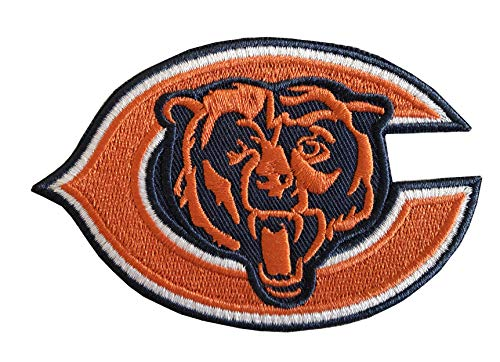 - Hipatch Chicago Bears Logo Embroidered Patch Iron on Logo Vest Jacket Cap Hoodie Backpack Patch Iron On/sew on Patch