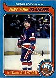 1979 Topps Hockey Card (1979-80) #70 Denis Potvin Excellent