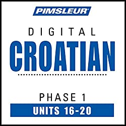 Croatian Phase 1, Unit 16-20