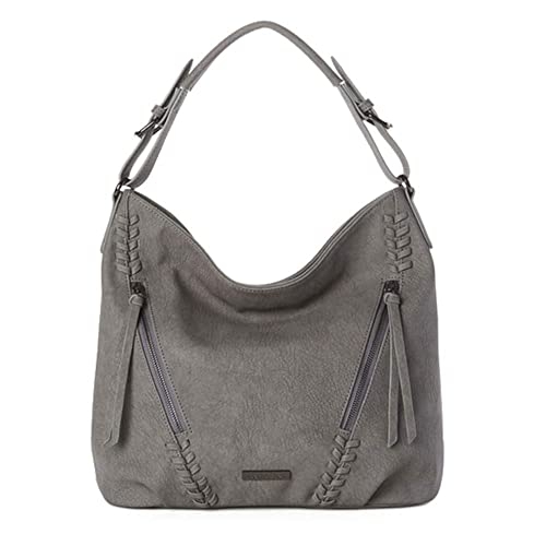 Amazon.com: Jeane & Jax Vegan Virginie Hobo - Bolsa para ...