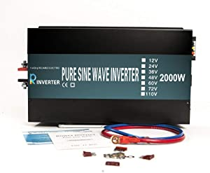 WZRELB Reliable 2000W Pure Sine Wave Inverter