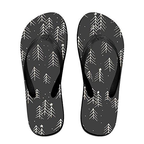 Christmas Doodle Pattern 4 Common Beach Slippers For Men And Women good ef6e6e3e9
