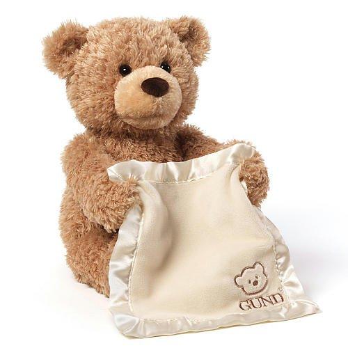GUND Feature Plush PeekABoo Bear