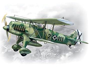 Juguete de aeromodelismo escala 1:72 Importado de Alemania ICM