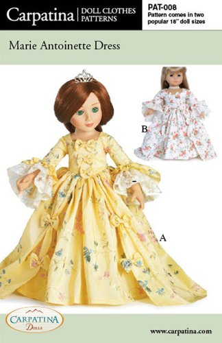 Free 18 Doll Patterns - 4