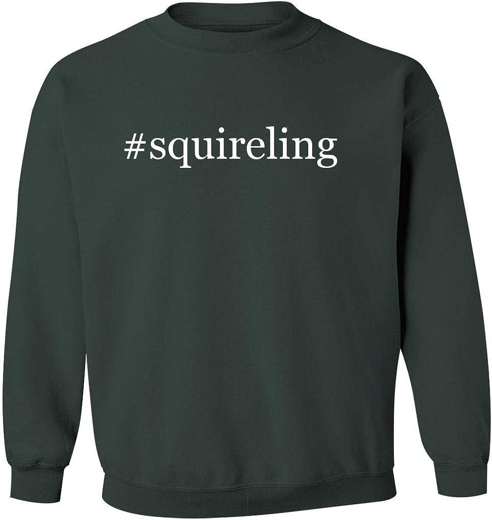 #squireling Mens Hashtag Pullover Crewneck Sweatshirt