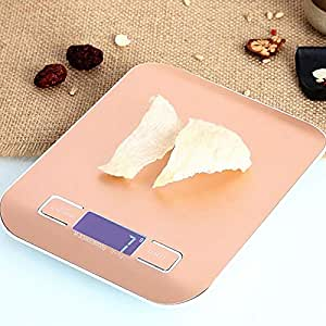 Kitchen Scales - Stainless Steel, 6 Large Units, Waterproof Surface, Kitchen Digital Stainless Steel Panel Food Baking Precision Measuring Scales - 2 Colors 2 Range Optional