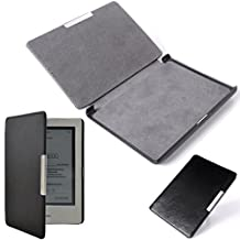 """XCSOURCE Slim Leather Magnetic Cover Case for Kobo touch 6"""" eReader Black PC625"""