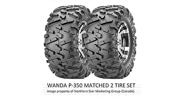 UTV TIRE 25-8-12 INCLUDES 2 TIRES- SELECT FROM 11 SIZES LISTED MATCHED SET 25x8-12 ATV TIRE 6 PLY RATED P-350