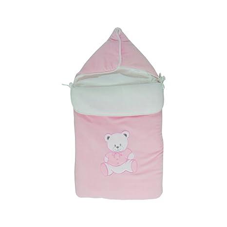 Bunting bebé de 0-6 meses de color rosa - Patrón de peluche ...