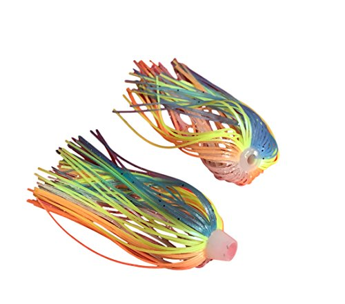 84 Strand Quick Change Jig Skirt or Spinnerbait Skirt 6 Pack, Sexy up your lure, dress it in this Skirt! Proven Colors That Work. (Creek Blue Gill)
