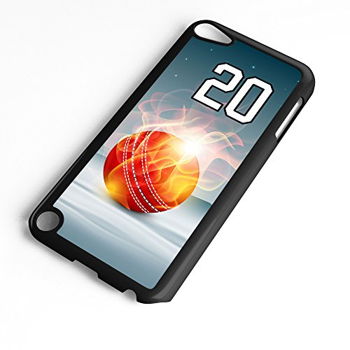 iPod Touch Case Fits 6th Generation or 5th Generation Basketball #9300 Choose Any Player Jersey Number 20 in Black Plastic Customizable by TYD Designs