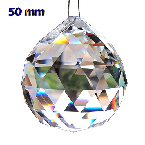 Hanging Glass Ball Pendant Light - 6