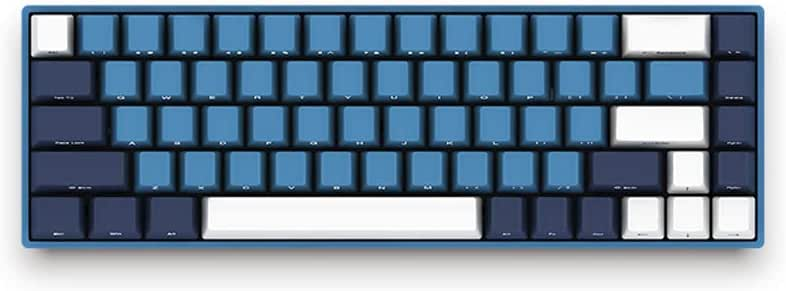 EPOMAKER AKKO SP Ocean Star Cherry MX Switch Mechanical Keyboard with PBT Keycaps, Type C Port for Windows PC Gamers (Cherry Blue Switch, 68 Keys)