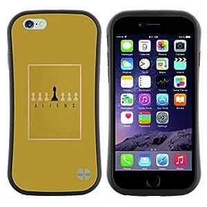 """Hypernova Slim Fit Dual Barniz Protector Caso Case Funda Para Apple (5.5 inches!!!) iPhone 6 Plus / 6S Plus ( 5.5 ) [Juego de mesa minimalista Oro del Rey""""]"""