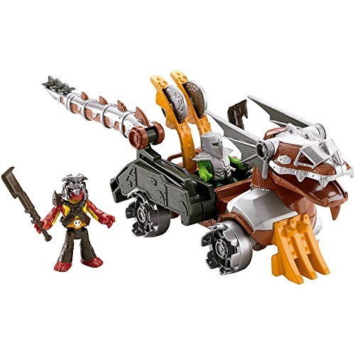 IMAGINEXT VEICULO SERPENTE MATTEL
