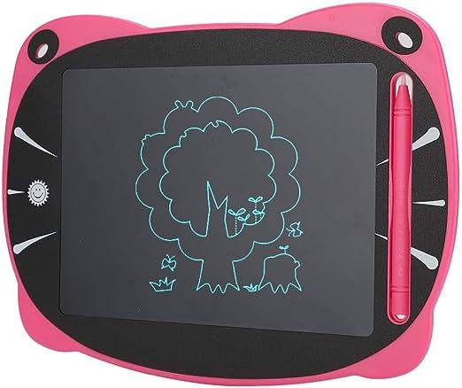 ライティングタブレット、非放射性液晶漫画ライティングボードライティングパッド単色手描きタブレットライティングパッド、子供のための誕生日プレゼントの絵を描く(Fan)