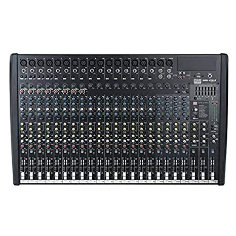 DAP-Audio Gig 244cfx 24 Canal mesa de mezclas con Dynamics & DSP ...