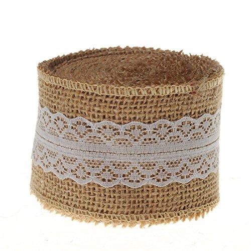 SL crafts Natural Hessian Burlap