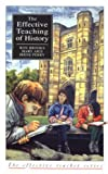Effective Teaching of History, The (Effective Teacher, The), Ron Brooks, Mary Aris, Irene Perry, 0582059151