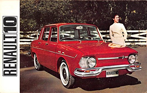 Renault-10 Automobile Advertising Vintage Postcard J21445