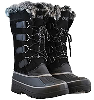 Amazon.com | Khombu Womens Waterpoof Winter Boots Nordic 2