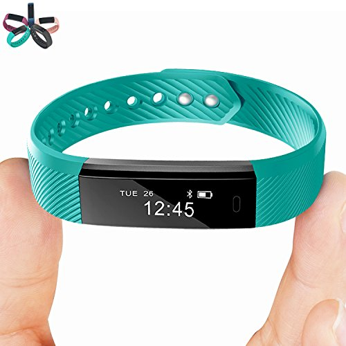 Smart Bracelet Point Touch TopBest ID115 Bluetooth Call Remind Remote Self-Timer Smart Band Calorie Counter Wireless Pedometer Sport Sleep Monitor Activity Tracker For Android iOS Phone