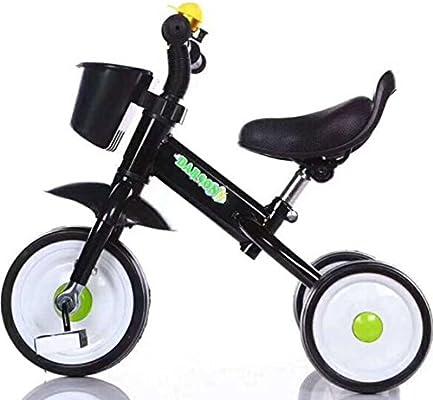 HUALQ Bicicleta Triciclo para niños Bicicleta para niños Carro de ...
