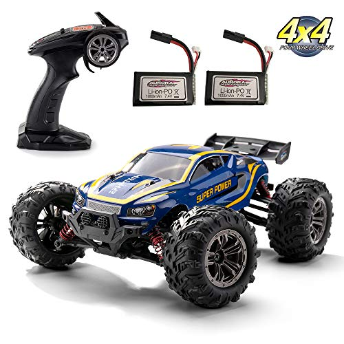 EPHYTECH 1/16 Off Road rc Cars Fast 40km/h 2.4Ghz Radio Remote Control 4x4 Trucks Hobby Toys for Kids and Adults
