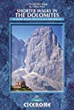 Shorter Walks in the Dolomites, Gillian Price, 1852846585