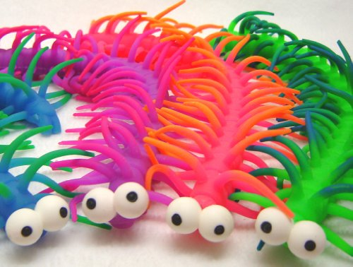 Sensory Toy Warehouse Centipede Cyril Stretchy Tactile Worm