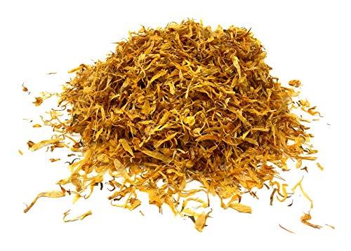 Calendula Petals - Pure Dried Marigold Flower Petals - Vegan   Gluten Free   Non-GMO   No Sugar Added - Net weight: 0.35oz / 10g - Calendula officinalis