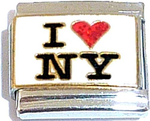 I Love New York Italian Charm