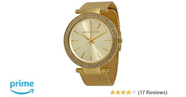 63197a3de6d2 Amazon.com  Michael Kors Women s MK3368 - Darci Gold Tone  Michael Kors   Watches