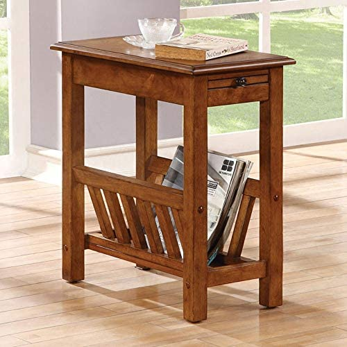 ACME Furniture 80517 Jayme Side Table, Tobacco
