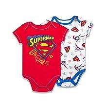 Superman 2-Pack Bodysuit- Red