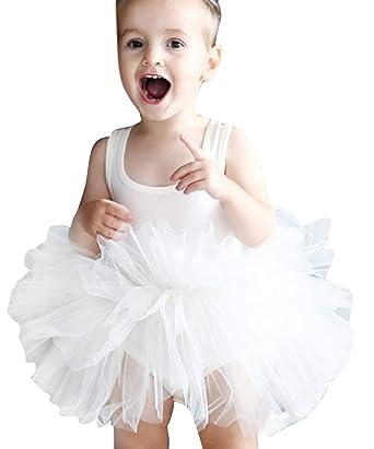 Marryme De Enfant Princesse Fille Robe Bébé Manche Tutu Sans QtsChrd