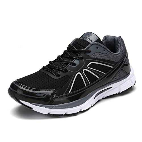 grey Pairs Running Sneakers Lace Light M 160318 Black Free Dk Weight Flexible Men's Sport Athletic Dream Up Shoes TAdPWd
