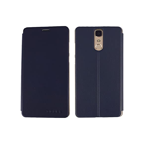 Abrasion Resistance PU Leather Flip Open Case For Doogee Y6 MAX Mobile Phone