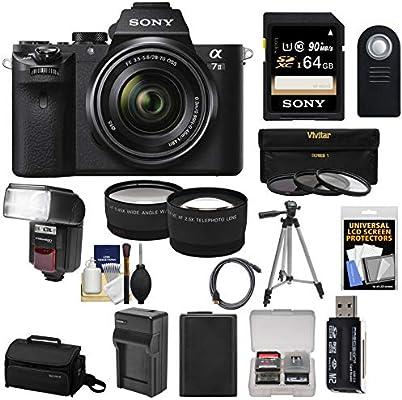 Amazon.com : Sony Alpha A7 II Digital Camera & 28-70mm FE ...