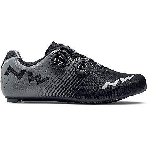 Schuhe 2019 Revolution schwarz grau Fahrrad Rennrad Northwave UtqgO