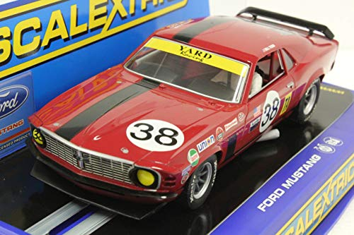 (Scalextric C3107 - Ford Mustang Trans Am Boss 302 Bill Todd - SVRA Vintage)