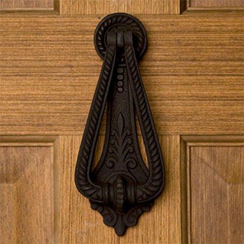 Iron Door Knocker - Black Powder Coat ()